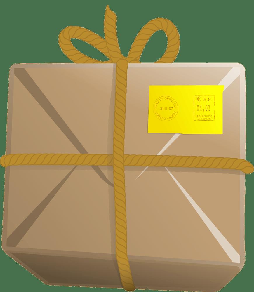 Skicka paket genom en smart tjänst